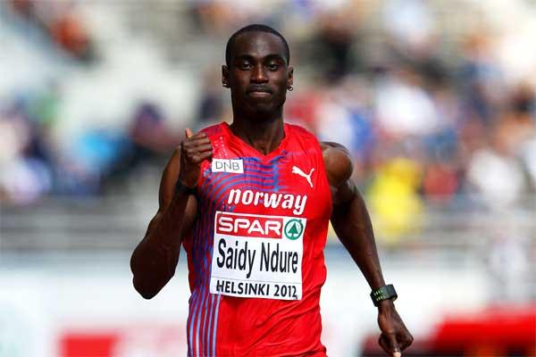 Norwegian sprinter Jaysuma Saidy Ndure (Getty images)