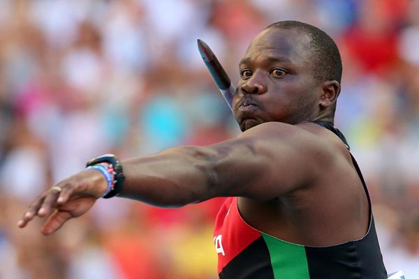 Kenya's Julius Yego in action in the javelin (Getty Images)