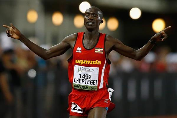 Day one report: Cheptegei adds to Ugandan gold reserves – Oregon 2014