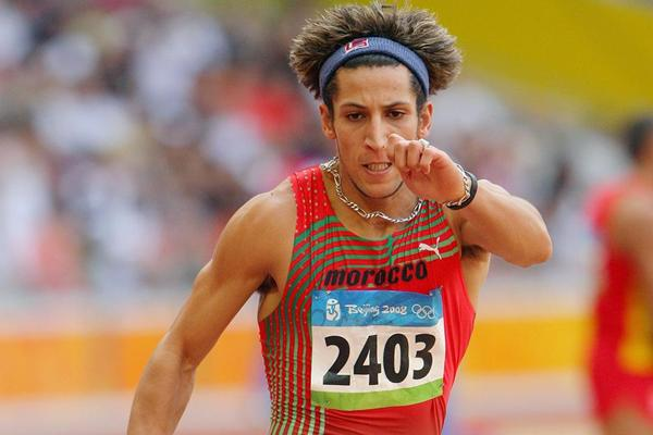 Moroccan triple jumper Tarik Bouguetaib (Getty Images)