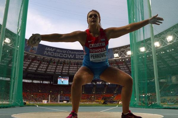 2013 World Championships in Athletics �13 Womens discus throw