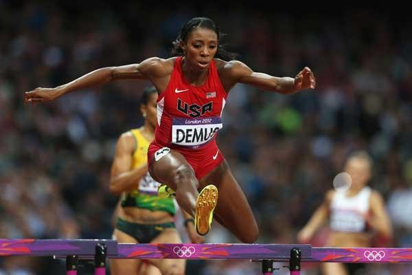 American 400 metre hurdler Lashinda Demus (Getty images)