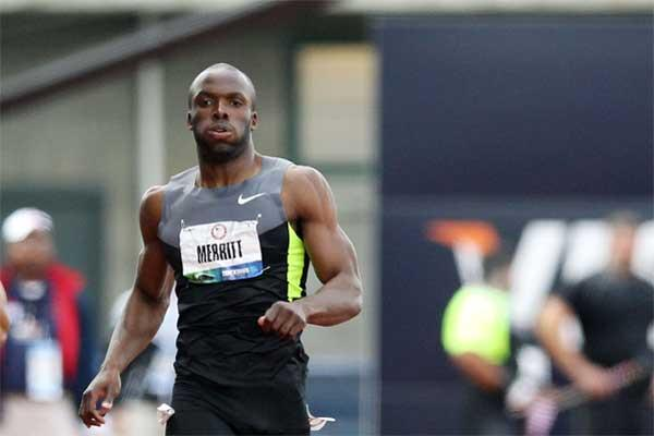 American 400m runner LaShawn Merritt (Getty images)