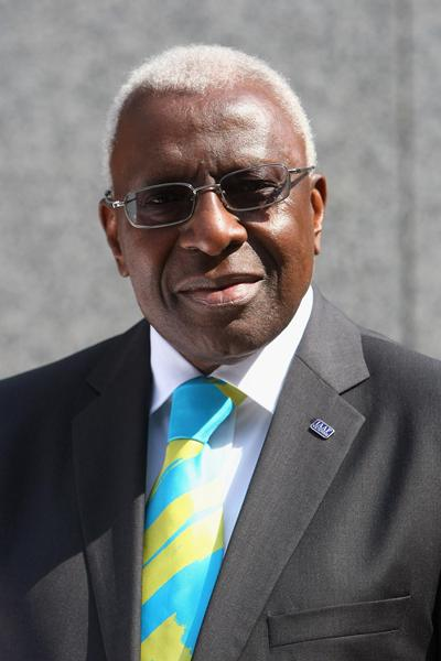 Lamine Diack - IAAF President (Getty Images)