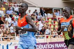 Asbel Kiprop en route to his world-leading 3:28.88 run in Monaco (Philippe Fitte)