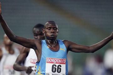 Isaak Songok wins the Rome Golden League 5000 metres (Getty Images)
