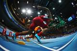 The start of the men's heptathlon 60m at the 2014 IAAF World Indoor Championships in Sopot (Getty Images)