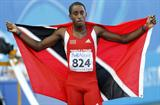 Trinidad & Tobago's Jehue Gordon lives up to expectation in the 400m Hurdles, winning gold (Getty Images)