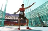 Rico Freimuth in the mens Decathlon at the IAAF World Athletics Championships Moscow 2013 (Getty Images)