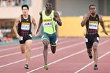 Kirani James wins a close 200m in Tokyo (Getty Images)