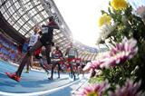 Action shot in the mens 1500m at the IAAF World Championships Moscow 2013 (Getty Images)