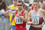 Spain's Jesus Angel Garcia in the 50km Race Walk at the 2003 World Championships (Getty Images)