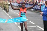 Priscah Jeptoo wins at the 2013 Bupa Great North Run (Mark Shearman)