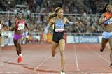 Sanya Richards-Ross wins in Stockholm from Amantle Montsho (Deca Text & Bild)