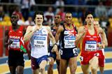 Jakub Holusa of Czech Republic, Andrew Osagie of GBR and Luis Alberto Marco of Spain in action (Getty Images)