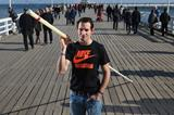 Renaud Lavillenie on the Sopot pier (Getty Images)