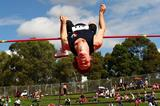 Australian decathlete David Brock in action in the high jump (Getty Images)