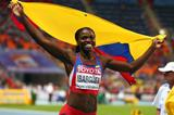 Caterine Ibarguen in the womens Triple Jump at the AAF World Athletics Championships Moscow 2013  (Getty Images)