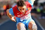 Aleksandr Menkov flies out to 8.36m at the 2013 European Team Championships (Getty Images)