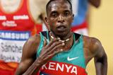 Kenya's Augustine Choge in the 3000m at the IAAF World Indoor Championships (Getty Images)