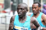 Gilbert Yegon in the 2014 Metro Group Marathon Duesseldorf (Victah Sailor / organisers)