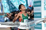 Yuki Kawauchi at the 2012 Sydney Running Festival (Getty Images)
