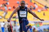 Teddy Tamgho in the mens Triple Jump  at the IAAF World Champonships Moscow 2013 (Getty Images)