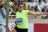Sandra Perkovic, winner of the Discus at the 2012 Herculis Diamond League in Monaco (Philippe Fitte)