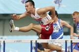 Artur Noga of Poland winner of the men's 110m Hurdles in Beijing (Getty Images)