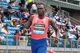 David Rudisha winning over 800m at the 2013 IAAF Diamond League in New York (Victah Sailer)