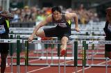 Liu Xiang powers to stunning 12.87sec (2.4m/s) 110m Hurdles victory in Eugene (Kirby Lee - Image of Sport)
