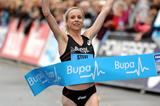 Gemma Steel wins the Great Birmingham Run with a course record (Mark Shearman)