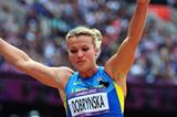 Natallia Dobrynska of Ukraine competes in the Women's Heptathlon Long Jump on Day 8 of the London 2012 Olympic Games at Olympic Stadium on August 4, 2012 (Getty Images)