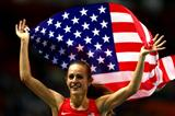 Jennifer Simpson after the women's 1500m at the IAAF World Athletics Championships Moscow 2013 (Getty Images)