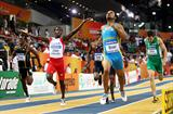 Chris Brown of Bahamas wins gold in the 400m final (Getty Images)
