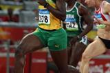 Kerron Stewart wins the second semi final of the women's 100m (Getty Images)