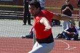 Jorge Balliengo (ARG) setting a new South American record in the discus, reaching 66.32m in Rosario (CADA)