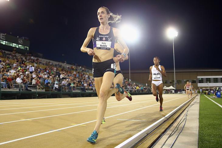 Молли Хаддл о своей любви к бегу на 5 000 метров
